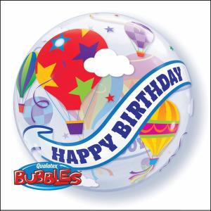 Birthday Hot Air Balloon Balloon Bubble