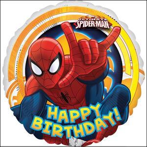 Spiderman Birthday 45cm