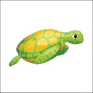 Sea Turtle Supershape Foil Balloon