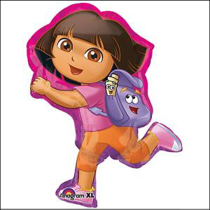 Dora off Exploring Supershape