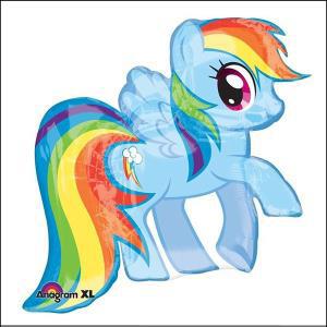 Rainbow Dash Supershape Foil Balloon