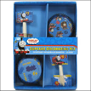 Thomas the Tank Cupcake Decorating Kit