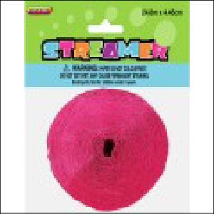Hot Pink Streamer 24.6m