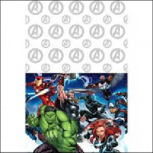 Avengers Party Tablecover Pk 1