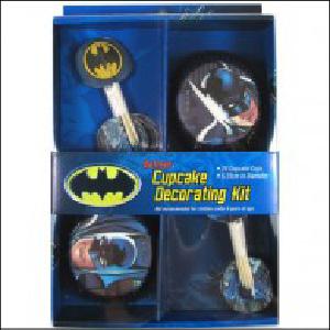 Batman Cupcake Decorating Kit