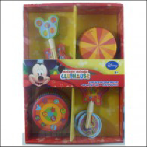 Mickey Mouse Clubhouse Cupcake Decoratin