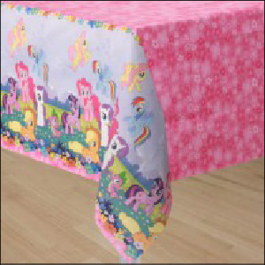 My Little Pony Paper Tablecover Pk 1