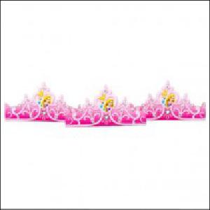 Disney Princess Sparkle Tiara Hats Pk 8