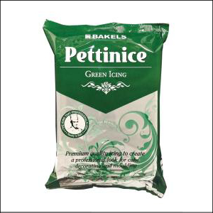 Bakels Pettinice Green Fondant 750g