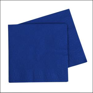 Premium Royal Blue Lunch Napkins Pk40
