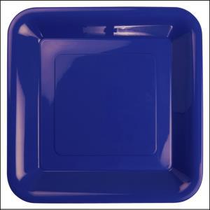 Premium RoyalBlue Plastic Square Banquet