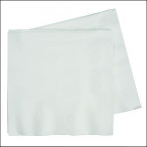 Premium White Lunch Napkins Pk 50