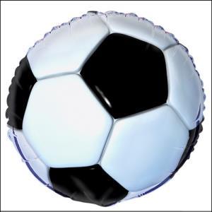 Soccer Ball Foil Balloon 45cm
