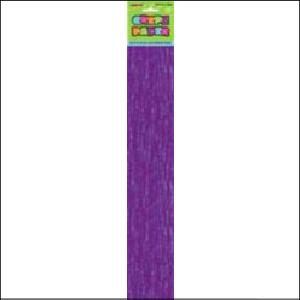 Crepe Paper Purple 1.83m