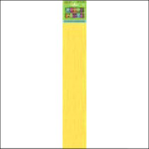 Crepe Paper Yellow 1.83m