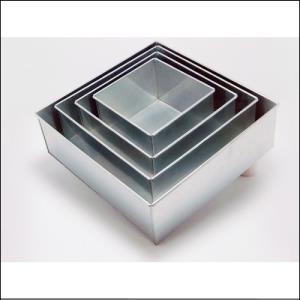 "Square Cake Tin 7""/17cm"
