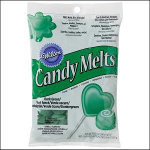 Wilton Candy Melts Green 340g
