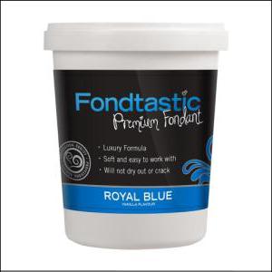 Fondtastic Fondant Royal Blue 908g