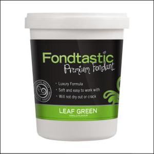 Fondtastic Fondant Leaf Green 908g