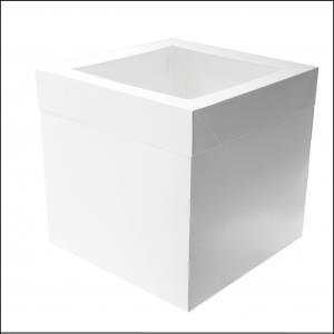 "Cake Box 16"" x 16"" x 12"" Window"