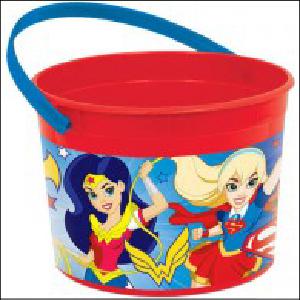 DC Girls Superheros Favour Container