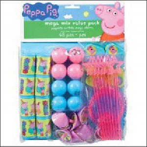 Peppa Pig Mega Mix Party Favour Pack Pk