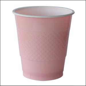 Premium Light Pink Plastic Cups Pk 20