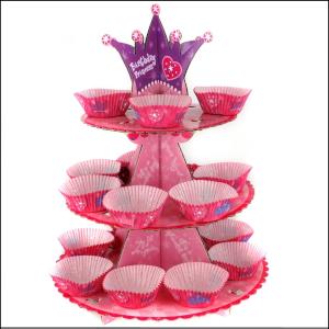 Cupcake Stand 24 Princess Pink