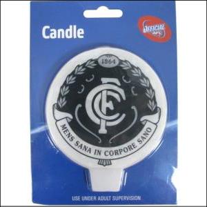 AFL Candle Carlton