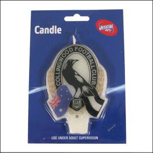 AFL Candle Collingwood