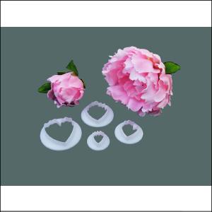 FMM Peony Flower Cutters Pk 4