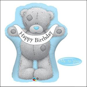 Tatty Teddy Happy Bday Supershape