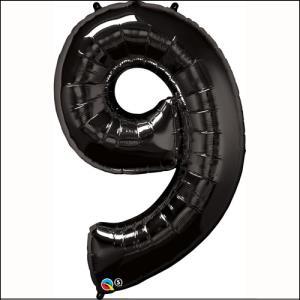 Number 9 Black Supershape 86cm