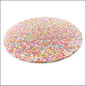 """Cake Board Sprinkles Round 14"""""""