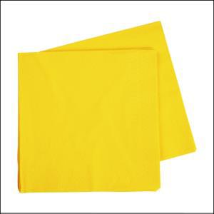 Premium Yellow Lunch Napkins Pk40