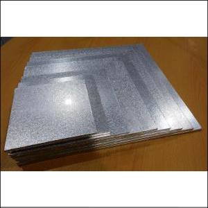 """Cake Board Masonite Square Silver 14"""""""