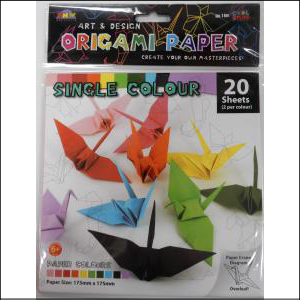 Origami Paper 17.5 x 17.5 cm 20 sheets