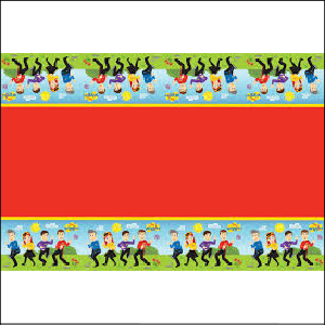 The Wiggles Plastic Tablecover