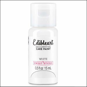 Edibleart Paint White 15ml