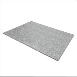 """Checker Plate Rectangle Board 13"""" x17"""""""