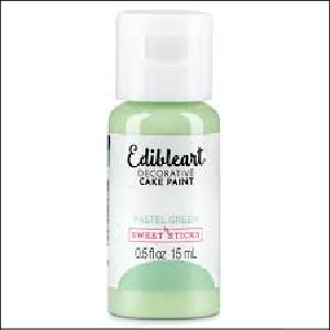 Edibleart Paint Pastel Green 15ml