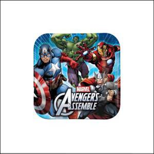 Avengers Square Dinner Plates