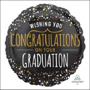 Congratulations Graduation Star45cm Foil