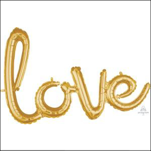 Air-fill Love Foil Balloon 78cmX53cm