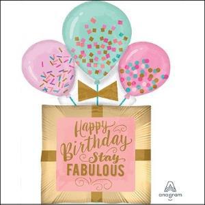 Fabulous Birthday Gift Supershape