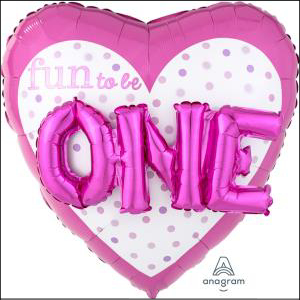 Fun To Be One Pink Supershape