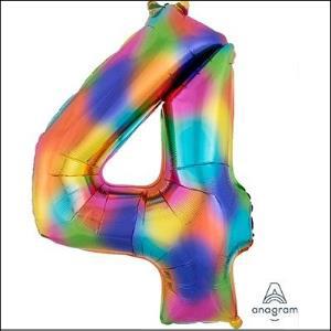 Rainbow Splash Number 4 Supershape