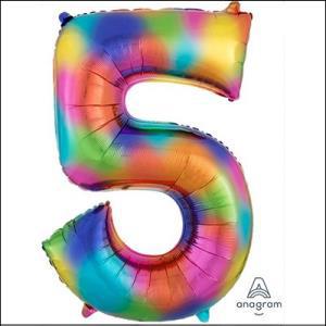Rainbow Splash Number 5 Supershape