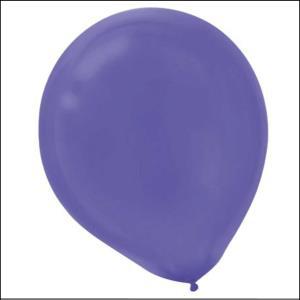 Deep Violet Latex Balloons 20pk