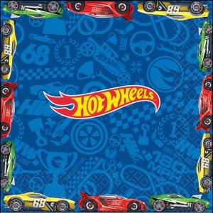Hot Wheels Wild Racer Lunch Napkins 16Pk